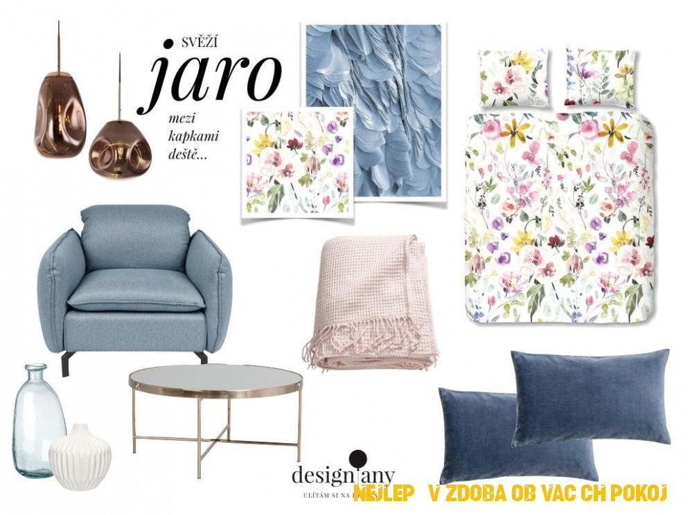 jarní inspirace, jarní interiér, jarní dekorace, jarní výzdoba ...