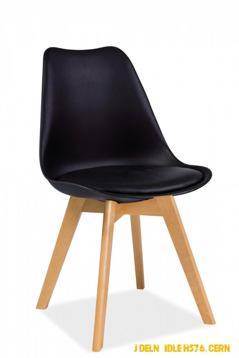 Jídelní židle H576, cerná