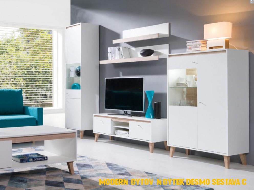 Moderní bytový nábytek Desmo sestava C