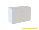 Kuchyňská skříňka horní závěsná bílá 4cm - czkoupelna
