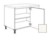 Kuchyňská skříňka rohová spodní Naturel Erika4 4x4x4 cm bílá lesk  4.UED445