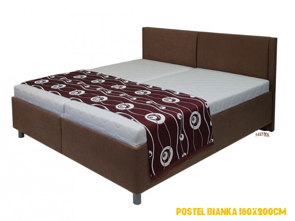 postel Ester 4x4cm, polohovací volně ložené matrace