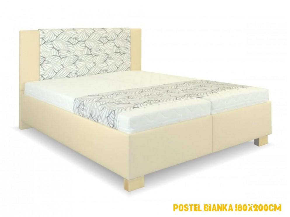 postel Laura 4x4cm, volně ložené matrace, nepolohovací