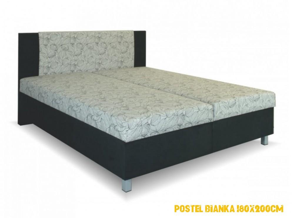 postel Melisa 4x4cm s pevným lamelovým roštem