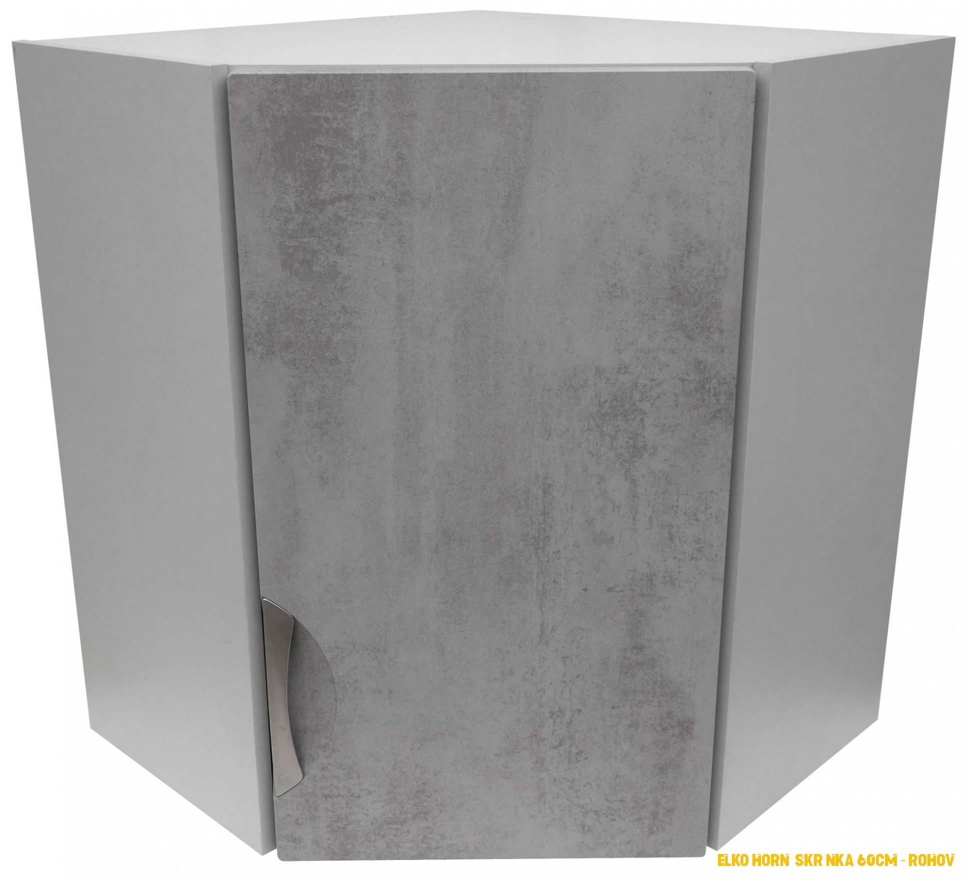 ELKO horní skrínka 60cm – rohová