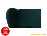 Rozkládací pohovka, zelená látka, COLUMBUS | Dům nábytku Rokycany |  nabytekrokycany