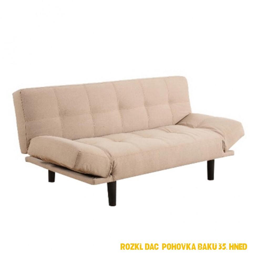 Béžové rozkladacie pohovky a gauče | Biano