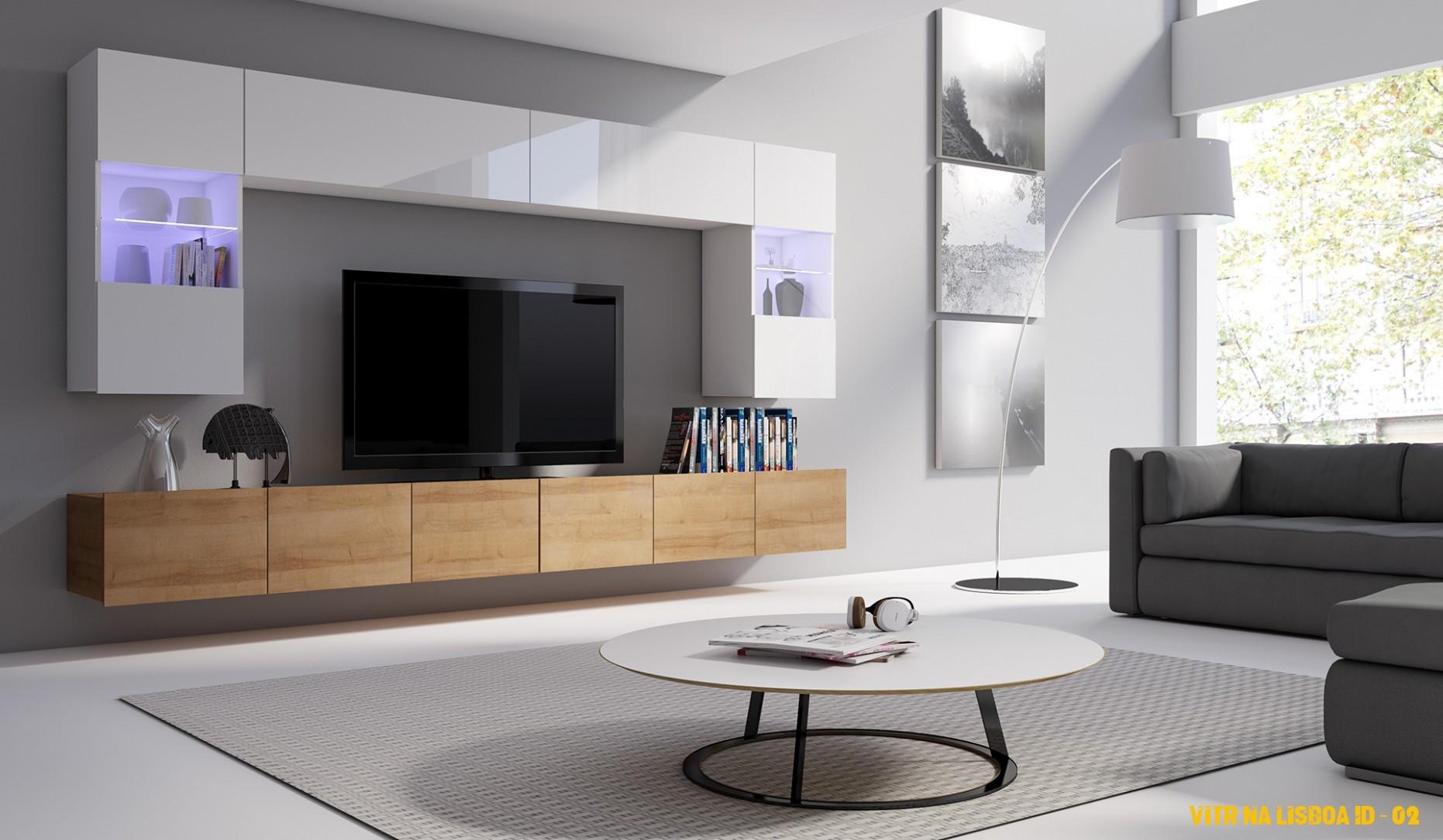 Bytový nábytok v škandinávskom štýle Lisboa A