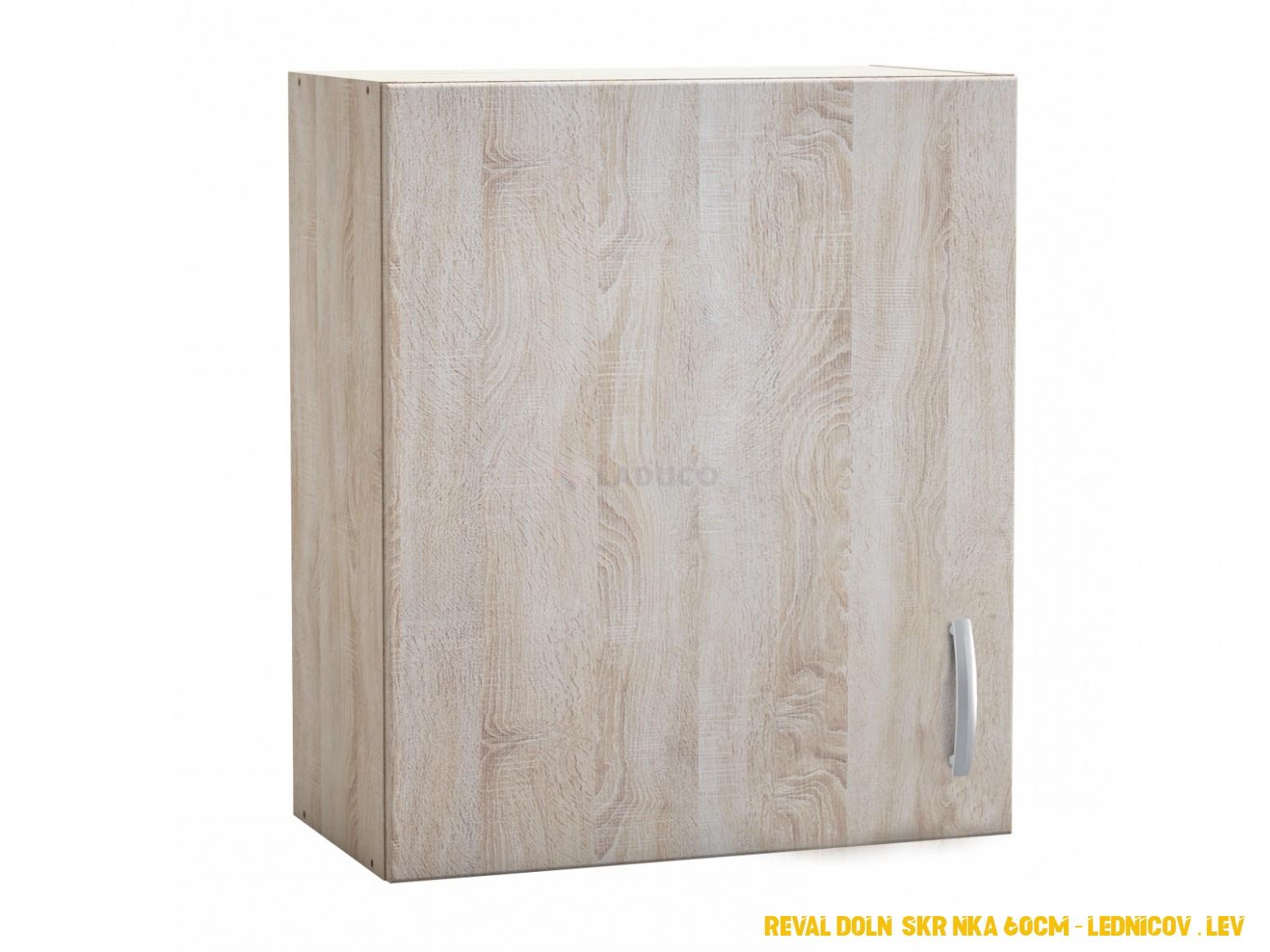 Horní kuchyňská skříňka SENEGAL šíře 4 cm v barvě dub sonoma ...