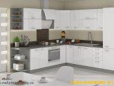 Kuchyňská linka - Bílá/šedá vysoký lesk - Foto možných barevných ...