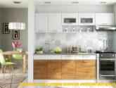Kuchyňská linka MORENO 4/4 cm andersen/lefkas | FH nábytek