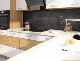 Aston dolní skrínka 60cm – vysoký DPS, řemeslník / bílý lesk