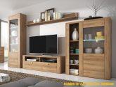 Luxusní obývací stěna Ladrone, dub riviera - inspirace a ...