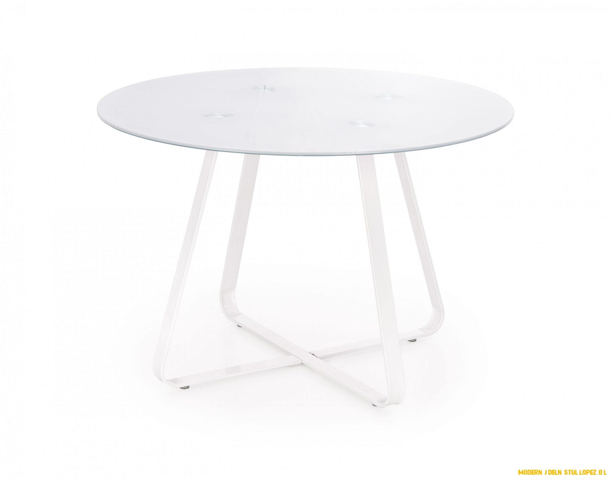 Moderní jídelní stůl Lopez, bílý - www.nabytek-helcel.cz
