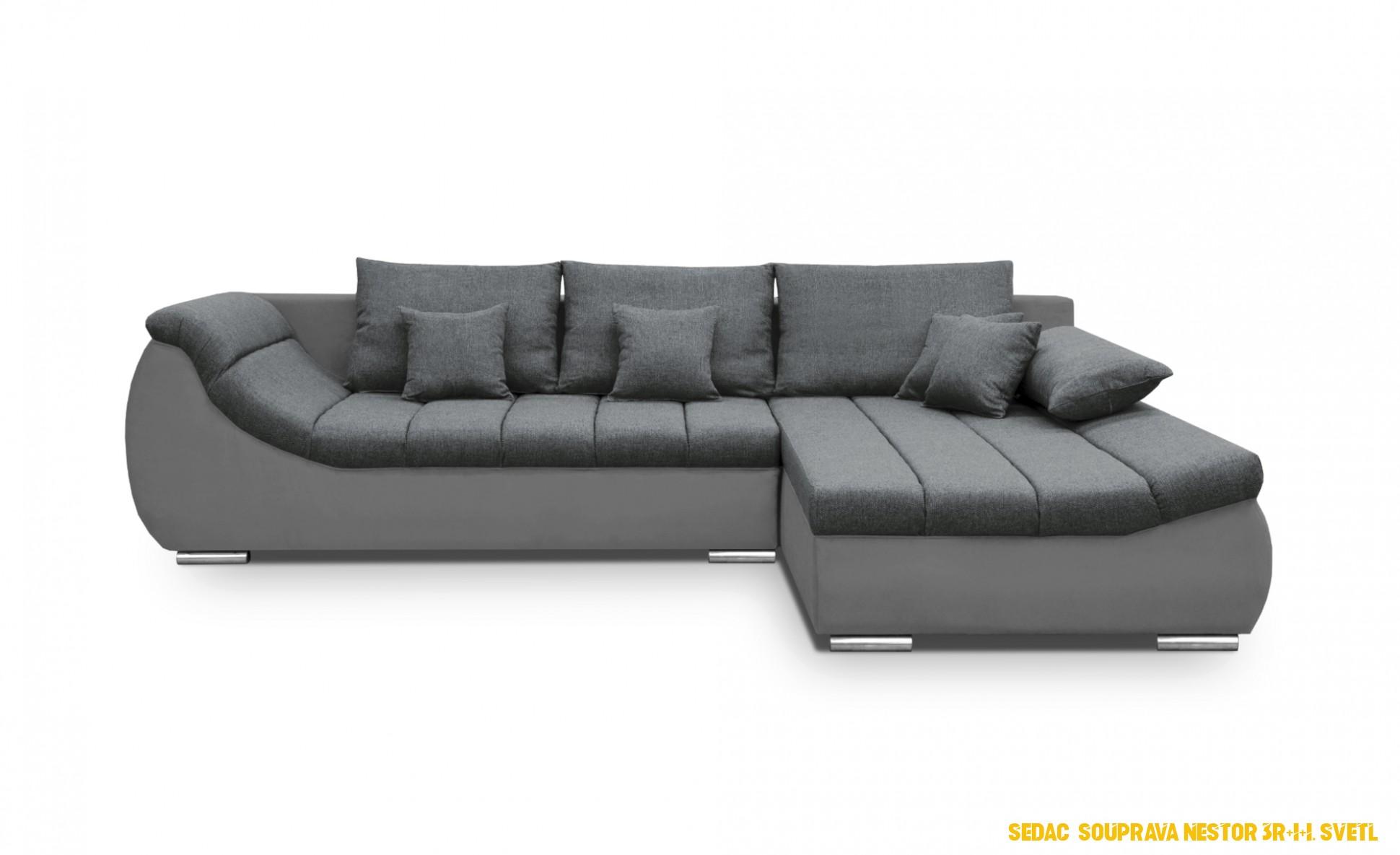 SCONTO Sedací souprava NESTOR - Nejlevnější nábytek se slevou až 4%