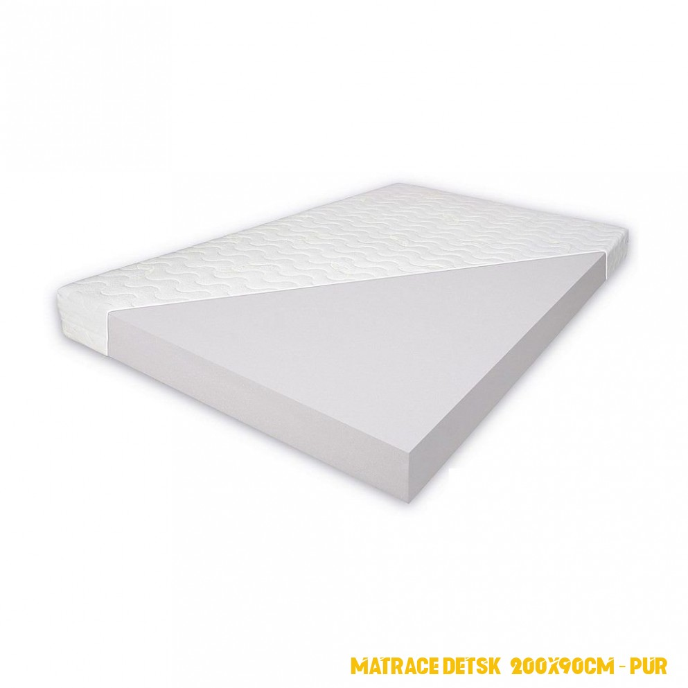 Detská penový matrac 4x4x4 cm