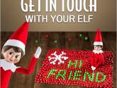 How Can I Talk to My Scout Elf? | Elf, Elf fun, Christmas elf