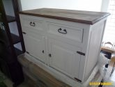 komoda bílá retro 4 | pk34 | Komody - Stylový nábytek Adamec