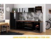 Luxusní kuchyňská linka Platinum B, vysoký lesk!