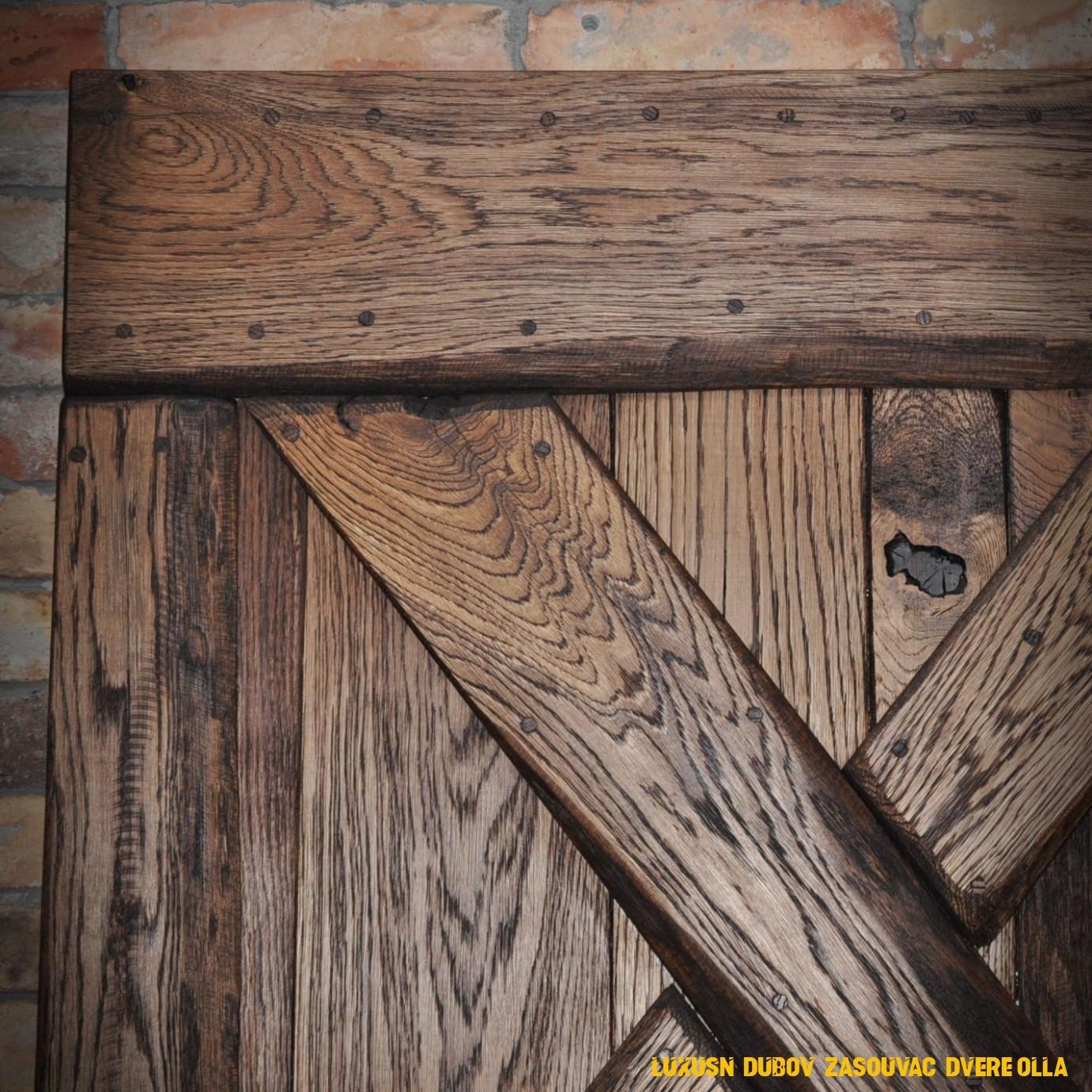 Luxusní dubové zasouvací dveře Olla