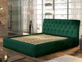 Moderní postel Marseille 4x4cm, bílá