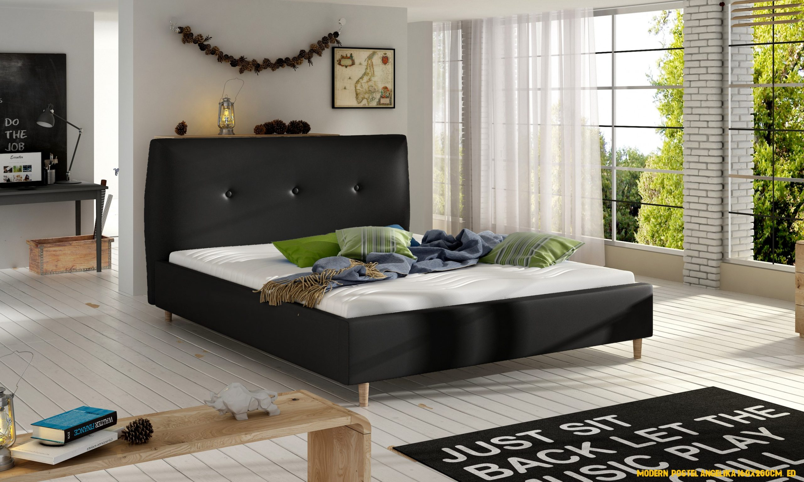 Moderni postel levně | Blesk zboží