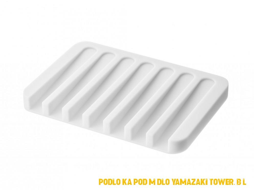 Podložka pod mýdlo YAMAZAKI Flow 4 | bílá
