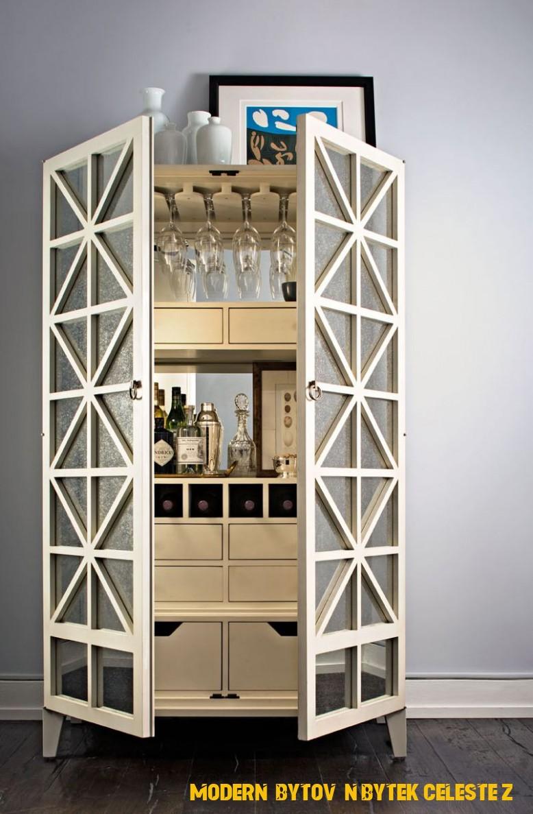 Classic Update: The Bar Cabinet | Interiéry, Moderní kuchyně, Obývák