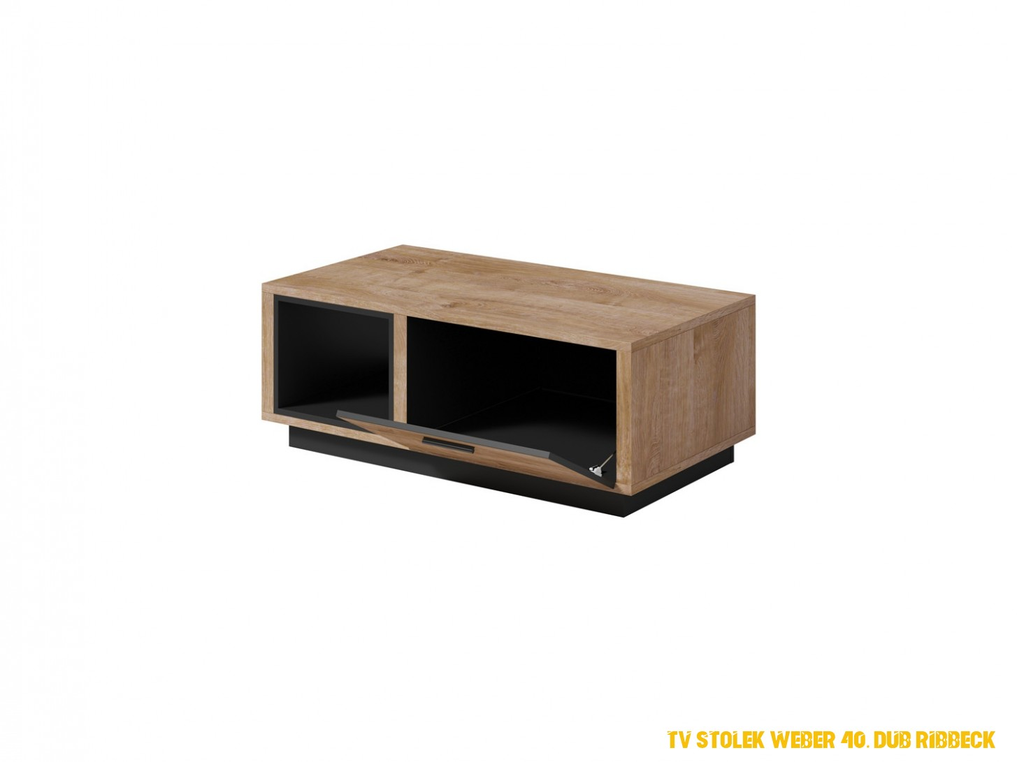 TV stolek Weber 40, dub Ribbeck