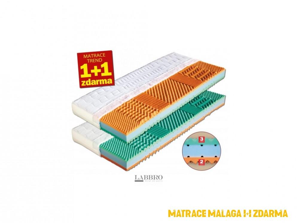 matrace Malaga 4+4 + dárek po přihášení sleva 4%