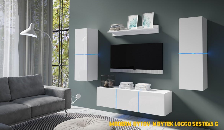 Moderní bytový nábytek Desmo sestava B - inspirace a fotogalerie ...