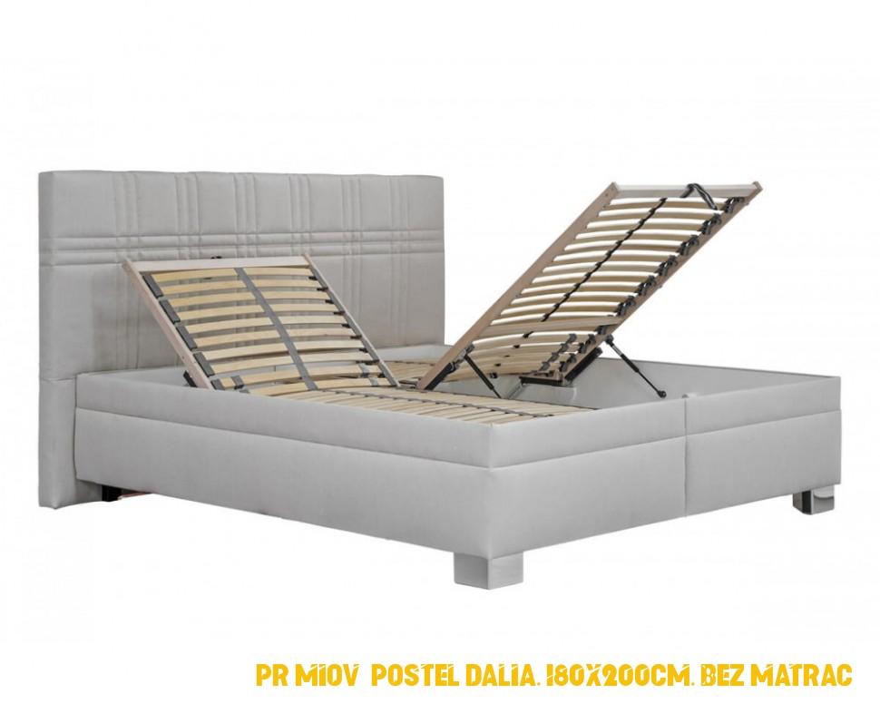 Prémiová postel Dalia, 180x200cm, bez matrací