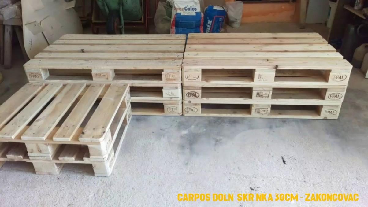 Carpos dolní skrínka 30cm – zakoncovací