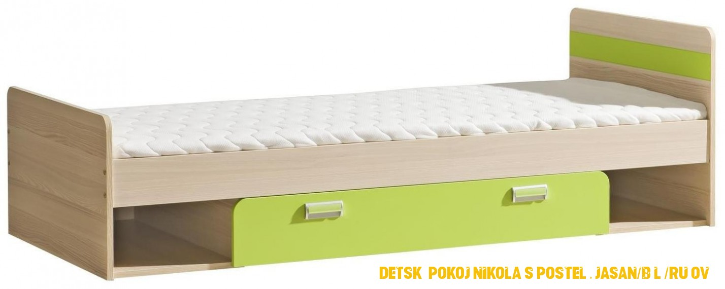 Detské postele z lamina - www.nabytok-helcel.sk