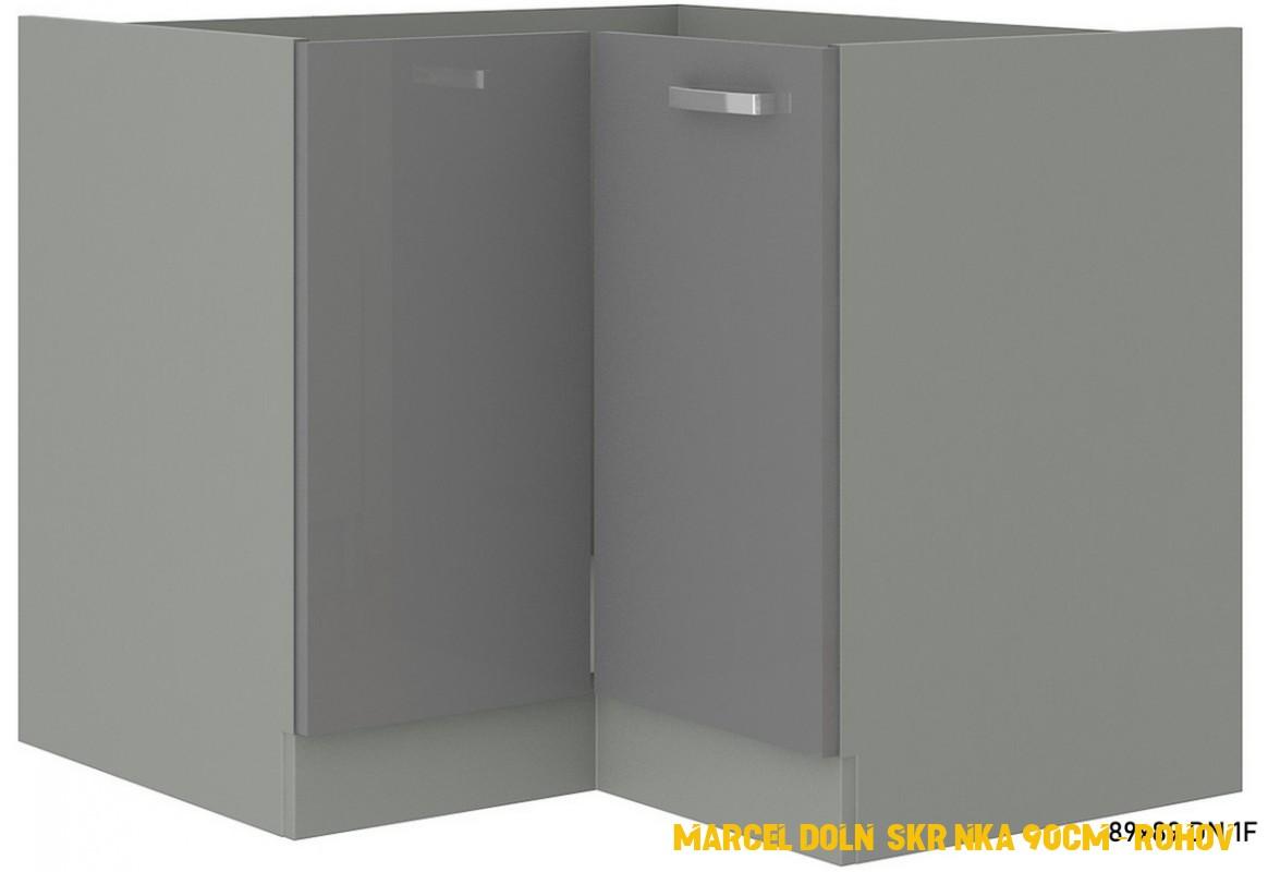 Kuchynska skrinka dolni rohova 4cm | Sleviste.cz