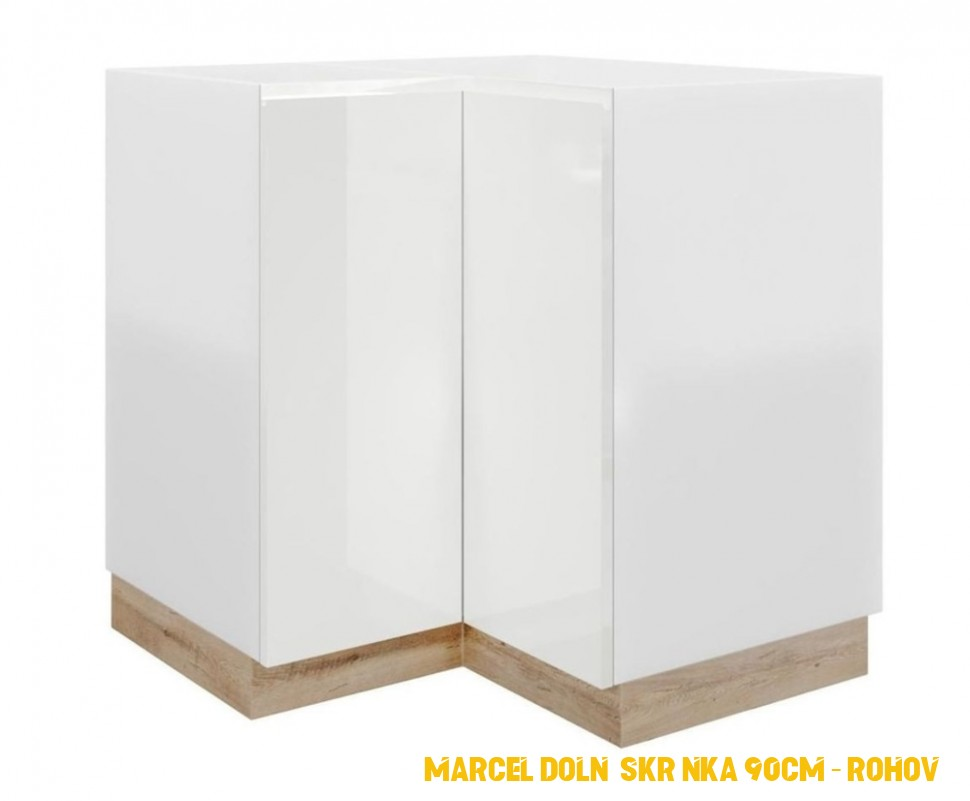Nábytek - D4N ( 4 cm), spodní skříňka rohová kuchyňské linky ...