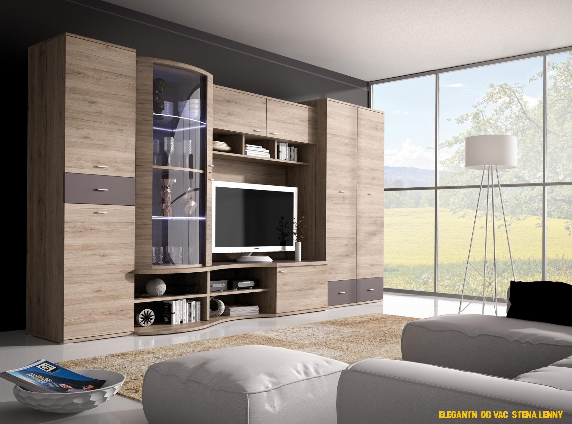 Elegantní nábytek stena Lenny