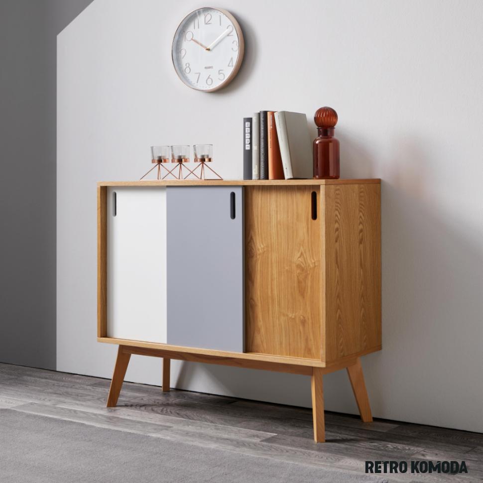 retro komoda in 17  Round furniture, Hall decor, Contemporary