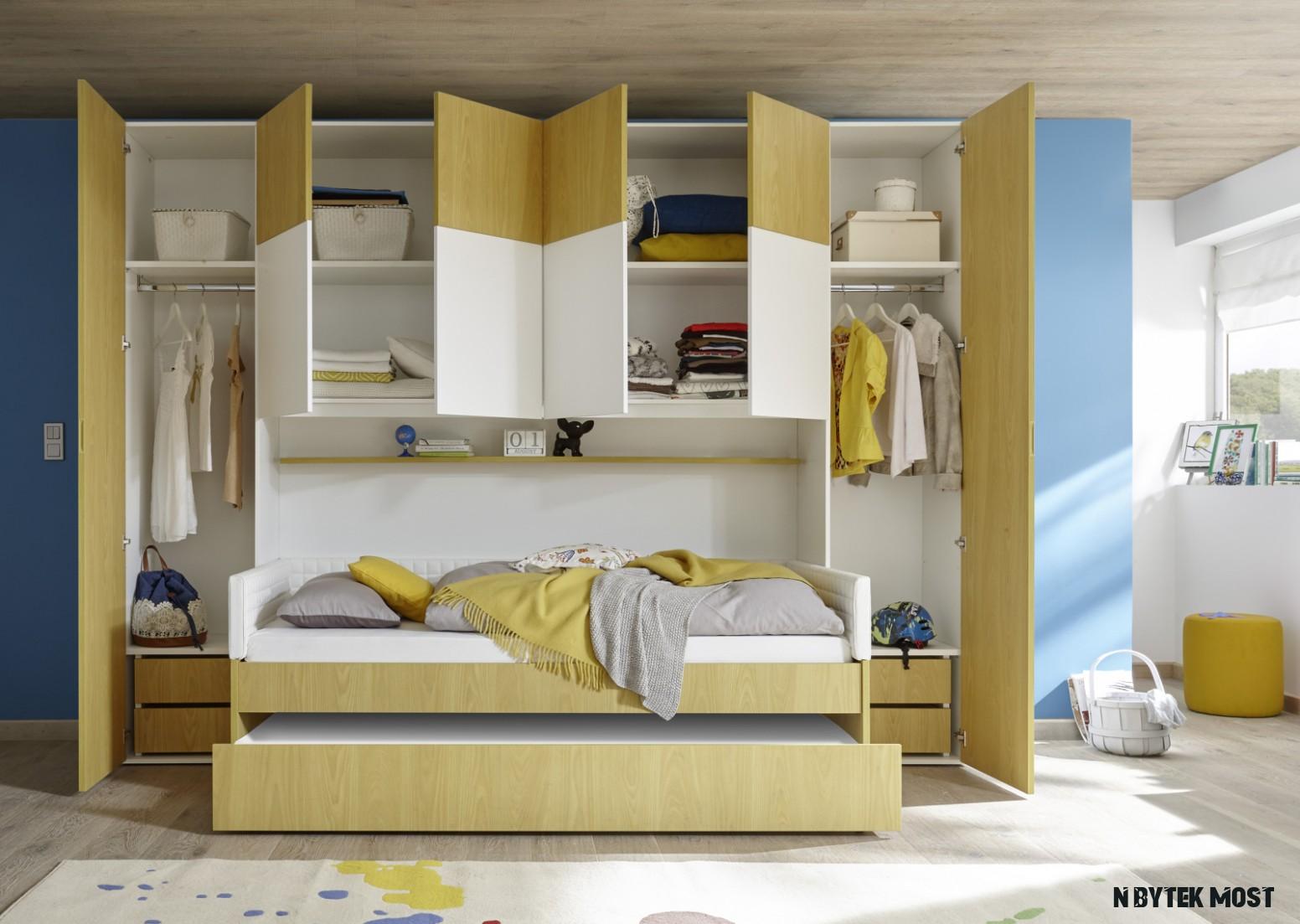 Dětský a studenstký nábytek ESPERO gelb (žlutá varianta) - Moderní