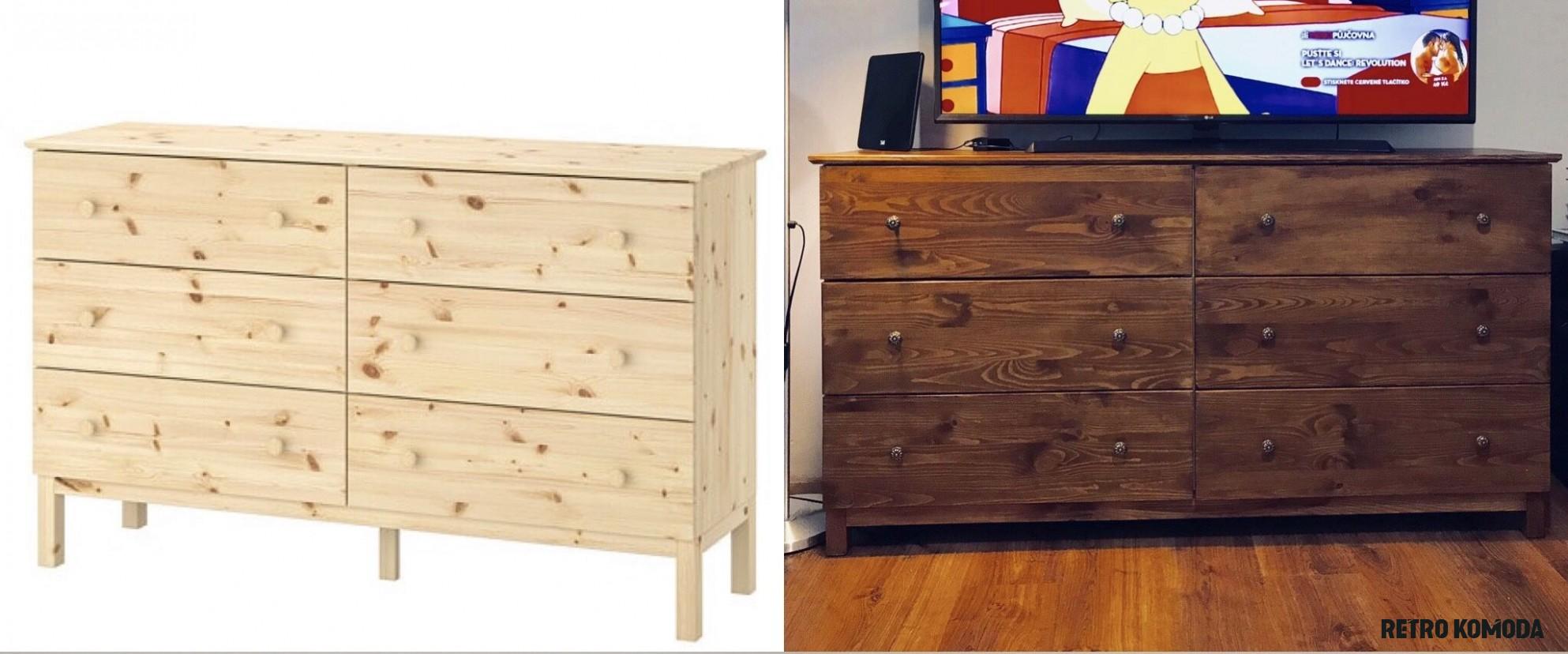 Proměna komoda  Home decor, Ikea, Decor