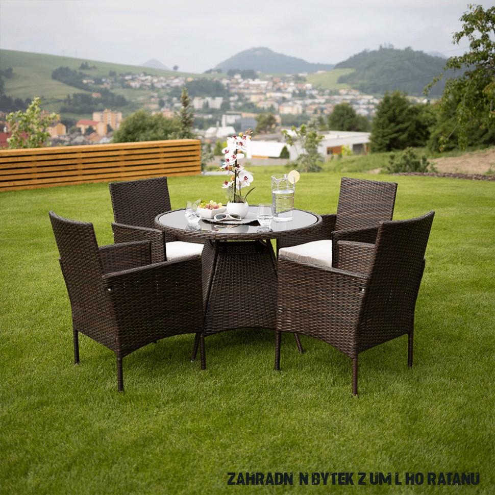 Zahradní nábytek Radlett 20+20 (umělý ratan)  HezkýNábytek.cz