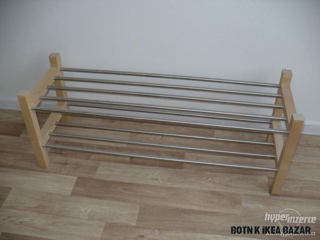 Botník IKEA - serie TJUSIG - inzerce, prodám - Hyperinzerce.cz
