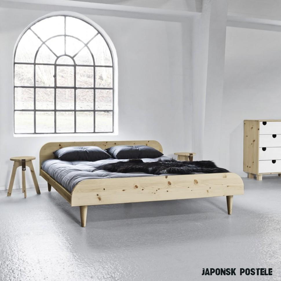 Postel Karup Design Twist Natural, 12 x 12 cm