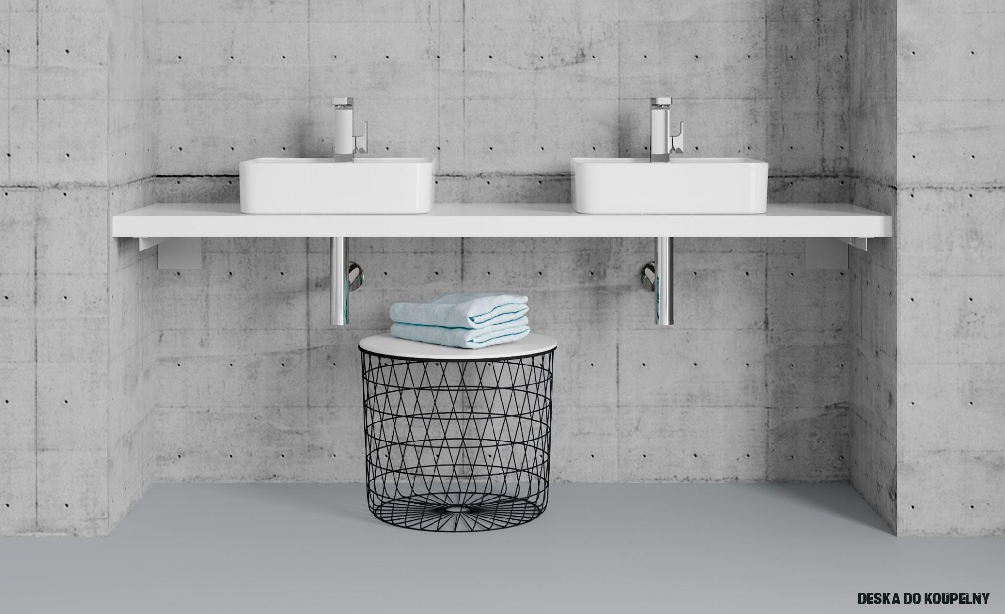Jak správně vybrat umyvadlo na desku - Koupelnový nábytek Dřevojas