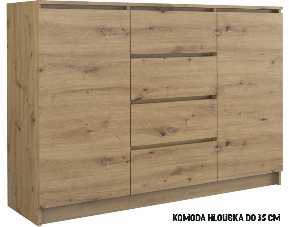 Fotka Myšlenky Kvalitní Komoda Hloubka 12 Cm - mujDum.co