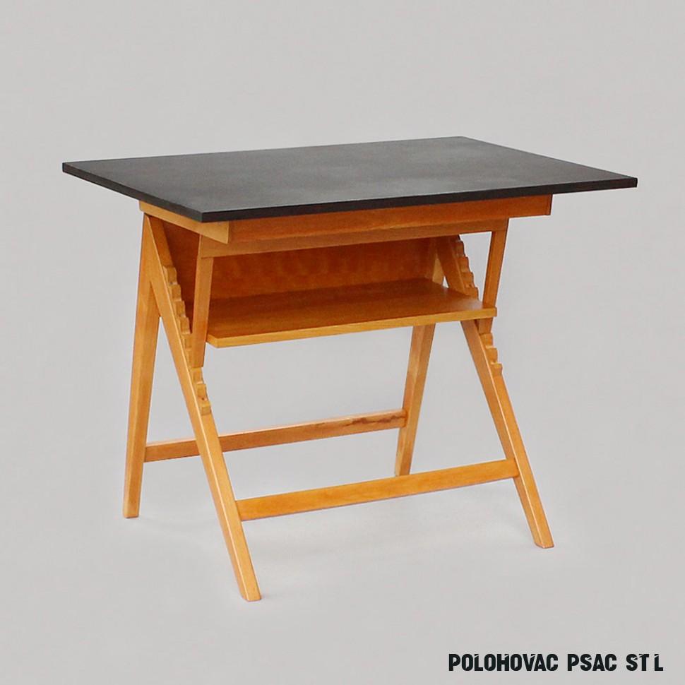 polohovací pracovní stůl - novoretro