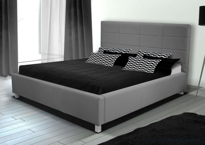 LUBICA IX manželská posteľ s úložným priestorom 18 x 18 cm