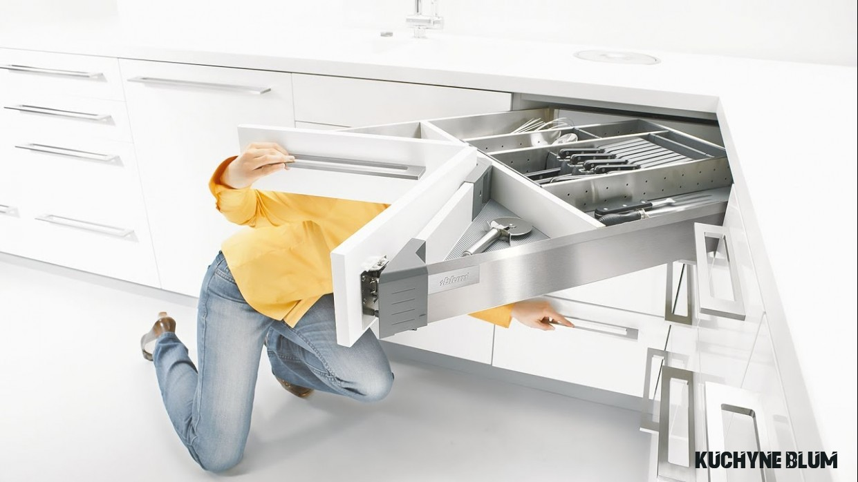 BLUM - jak na roh v kuchyni - srovnání řešení