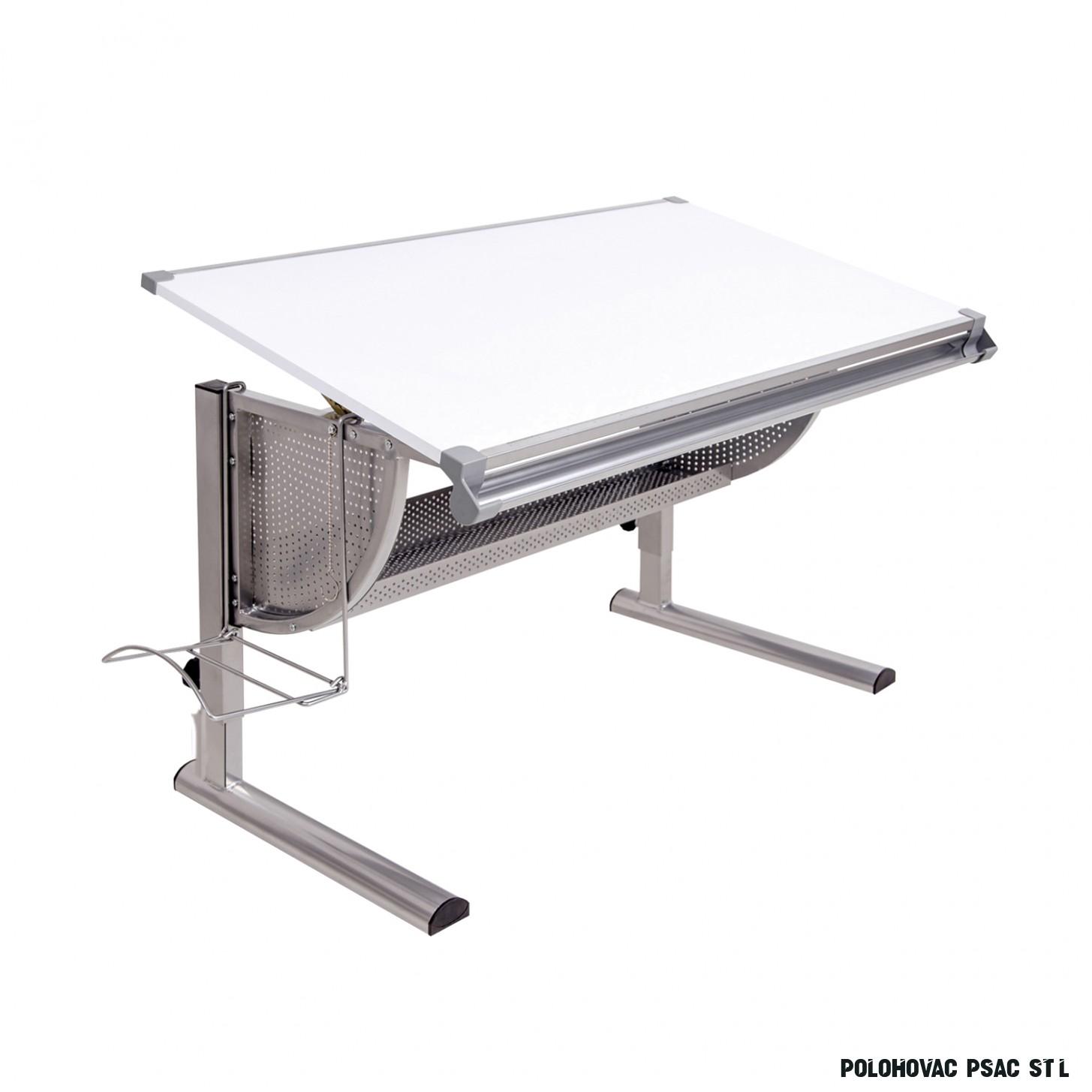 Psací stůl bílý - Psací a PC stoly - IDEA nábytek