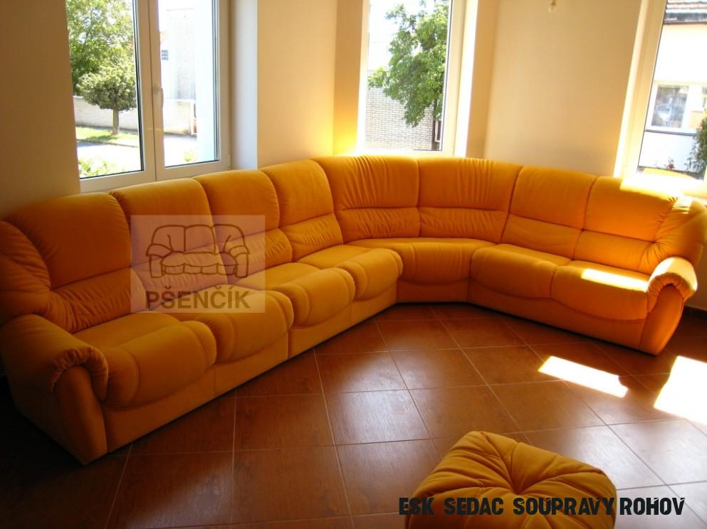 Rohová luxusní sedací souprava  Rohové sedací soupravy  Pšenčík